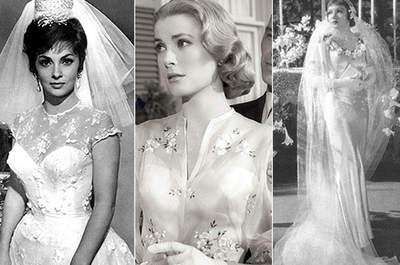 Die spektakulärsten Brautkleider von Hollywood