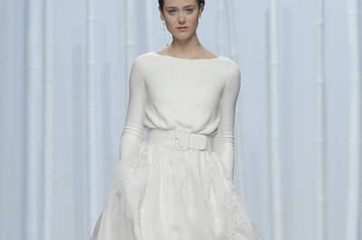 Свадебные платья с длинным рукавом 2016: идеальные свадебные платья для осенней свадьбы