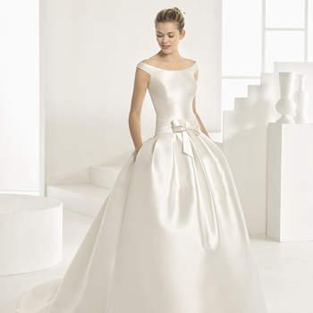 30 Brautkleider mit Schleifen 2017: Extrem romantische Hochzeitskleider