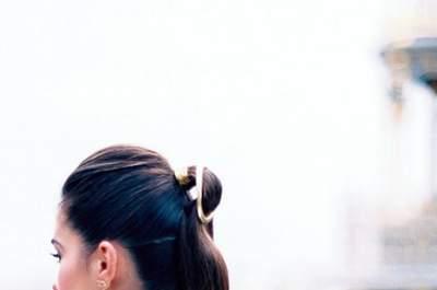 20 coiffures de mariée à queues de cheval 2017 canons!