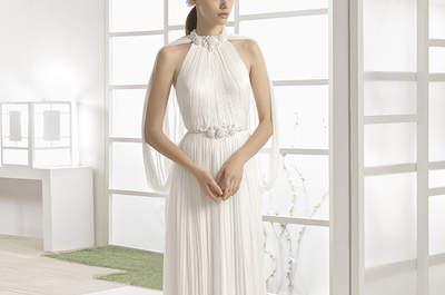 Vestidos de noiva com saia plissada: uma moda que voltou com tudo!