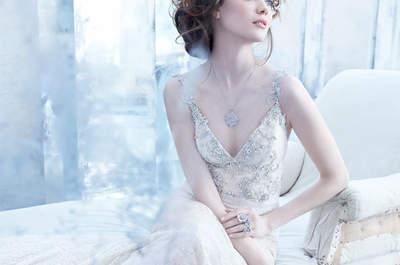 Vestidos de novia elegantes de Lazaro