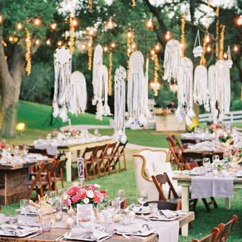 20 ideas geniales para decoración de boda estilo boho-chic 2017. ¡Te encantarán!