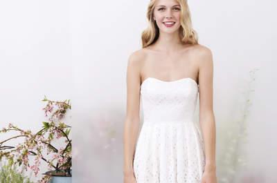 Neue Brautkleider von Kisui 2017! Inspiriert vom schwedischen Midsommar