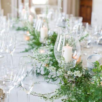 Echa un vistazo a la decoración de boda con velas 2017 y llena de luz tu gran día