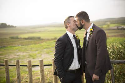 Real Wedding: Andrea + Massimo's