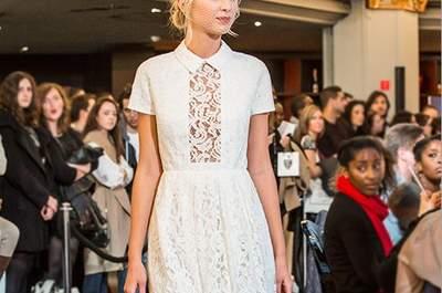 Les plus belles robes de mariée du défilé du Printemps Haussmann