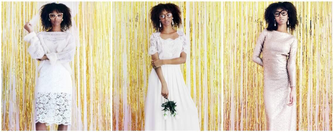 Robes de mariée Violette Tannenbaum 2017 : pour une mariée mutine et moderne