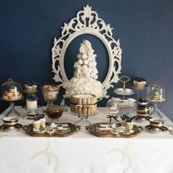Mesas de doces no seu casamento: vai ficar de água na boca!