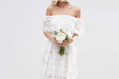 50 vestidos de noiva low cost 2017. MARAVILHOSOS!