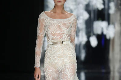 Unsere Auswahl an Brautkleidern mit Bateau-Ausschnitt 2016: Ihr Glanzstück für den Hochzeitstag!