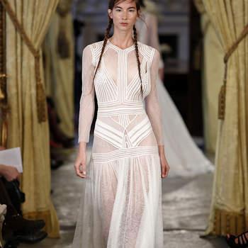 60 magníficos vestidos de novia de manga larga 2017. ¡Enamórate al instante!