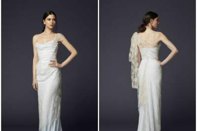 Luscious Lace wedding dresses for 2016: new trends created with a delicate textile
