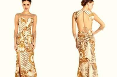 Vestidos de festa estampados e longos: 89 modelos que são pura ousadia e elegância!