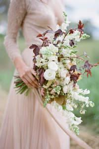 Ramos de novia perfectos para el otoño