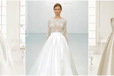 Vestidos de novia corte princesa 2016: 50 modelos que harán tus sueños realidad