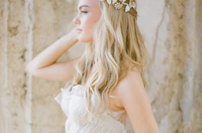 Brautfrisuren für offenes Haar in 2017 – Natürliche Looks für den Hochzeitstag