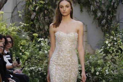 De 50 mooiste bruidsjurken van 2017 voor de bruid met wat kleinere borsten!