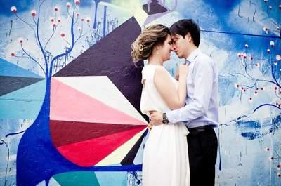 Street Wedding: ensaio pós casamento na cidade é puro LUXO!
