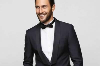 Noivos com estilo: gravata borboleta é tendência em 2015