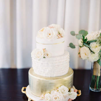 Floral wedding cakes – a very special bouquet!