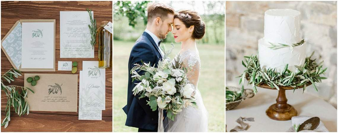 Wedding Decor Inspiration: Olive Branches