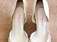 Todas las tendencias en zapatos de novia 2015
