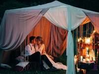 Зоны chill-out на вашей свадьбе