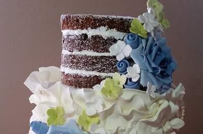 Naked Cakes 2016: uma das tendências mais em alta para casamento!