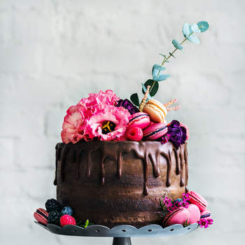 Drip cake: модная тенденция 2017 года!