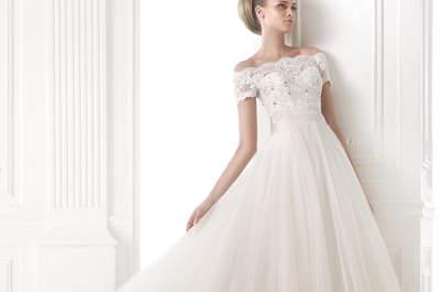 Casamento de conto de fadas? Conheça os Vestidos corte princesa Pronovias 2015