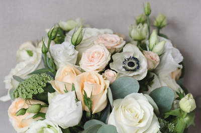 Anémonas: flores en tendencia para tu ramo de novia