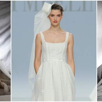 Robes de mariée à col carré 2017 : Pour un look délicat!