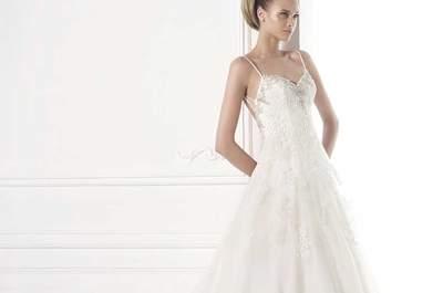 25 propostas de vestidos de noiva com alças para 2015