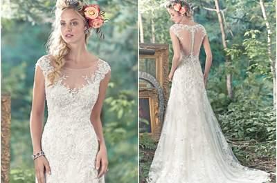 Maggie Sottero Primavera 2016: luce uno de estos vestidos de novia y triunfa