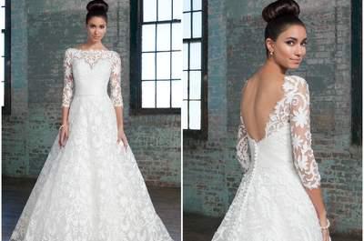 Эксклюзивные свадебные платья Justin Alexander Signature 2016: роскошь и элегантность