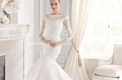 Vestidos de noiva com decote ilusão: quando o decote não é o que parece!