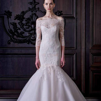 A nova colecção de vestidos de noiva de Monique Lhuillier para 2016: a essência do bom gosto!