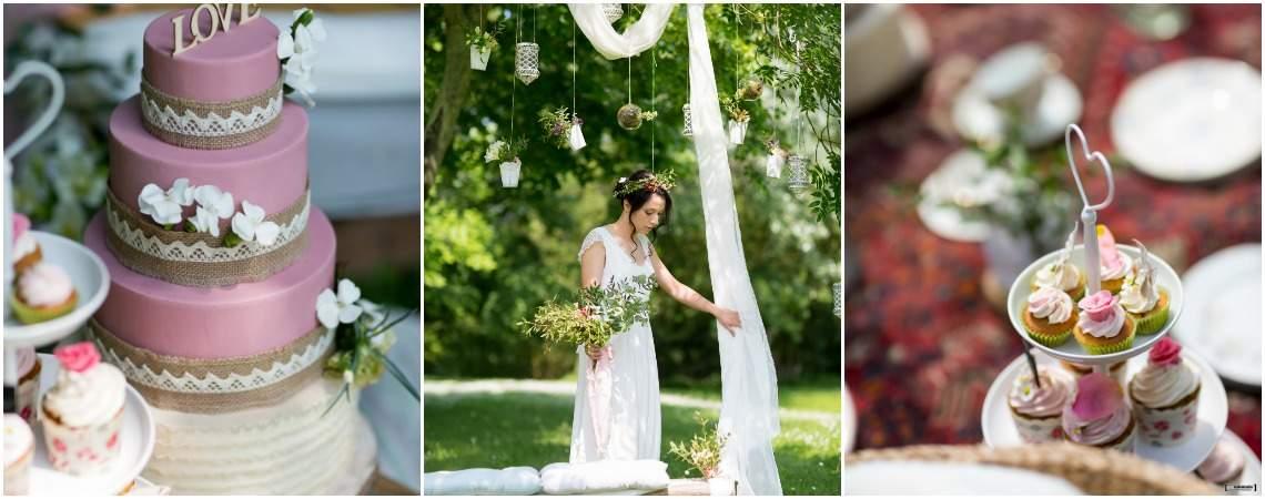 Un mariage gourmand sur un air bohème