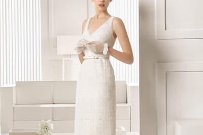 Robes de mariée 2015 courtes pour des femmes audacieuses