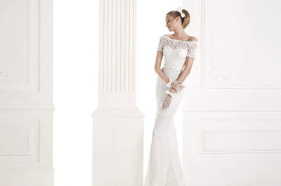 Pronovias Hochzeitskleider 2015: Mit dem Meerjungfrauenschnitt sitzt das Brautkleid perfekt