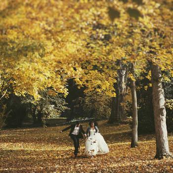 Razones por las que elegir el otoño para conseguir las fotografías de boda más especiales