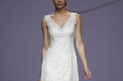Lindos vestidos de novia para mujeres con mucho pecho 2016, ¡derrocha elegancia y glamour!
