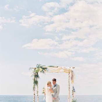 Imperdibles ideas de decoración de boda en la playa 2017. ¡Te encantarán!