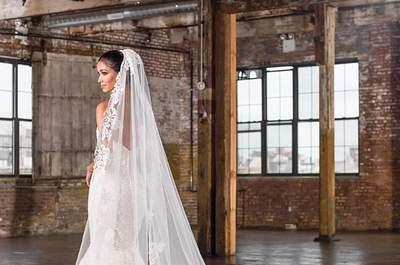 35 velos de novia 2017 que completarán tu look. ¡Encuentra tu favorito!