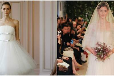 Discover the magnificent designs from New York Bridal Week 2016