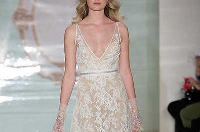 Reem Acra Bridal Collection Spring/Summer 2015 at the New York Bridal Week