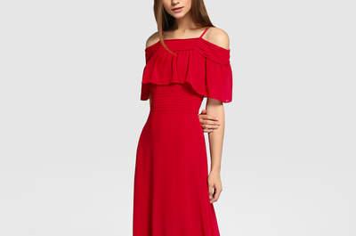20 vestidos de fiesta rojos largos 2017. ¡Elige tu favorito!