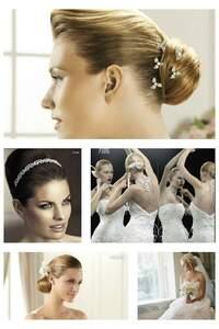 Simple et chic, les coiffures pour un mariage d'été