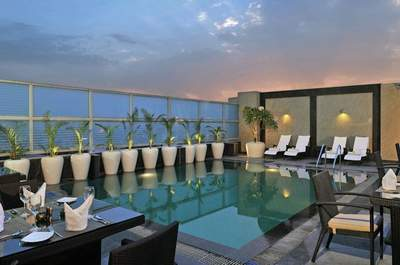 Top 6 hotels to host your wedding with swimming pools in Delhi